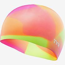 Шапочка плавательная подростковая TYR Tie Dye Junior Swim Cap