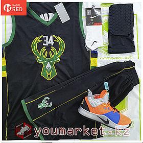 Баскетбольная форма «Милуоки Бакс» (Milwaukee Bucks) игрок Яннис Адетокумбо (Giannis Antetokounmpo)