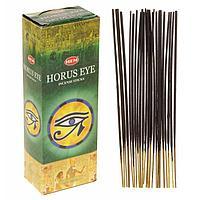 """Благовония """"HEM"""" 20 палочек угольные horus eye, фото 1"""
