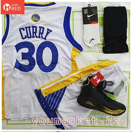 """Баскетбольная форма Golden State Warriors игрок """"Steph"""" Curry (Стеф Карри)  ( вышивка ), фото 2"""