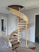 Лестница деревянная модульная