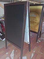Меловой штендер, доска для кафе и ресторана по индивидуальному заказу, фото 1