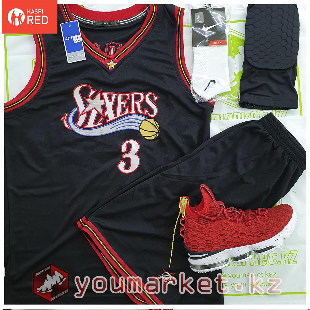 Баскетбольная форма «Филаде́льфия Се́венти Си́ксерс» (Philadelphia 76) игрок А́ллен А́йверсон (Allen Iverson)