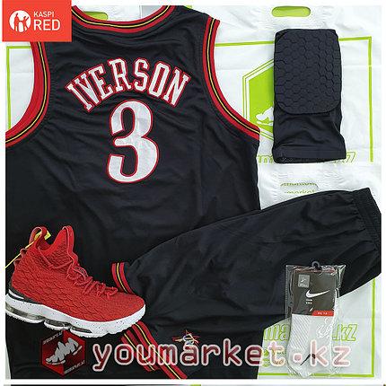 Баскетбольная форма «Филаде́льфия Се́венти Си́ксерс» (Philadelphia 76) игрок А́ллен А́йверсон (Allen Iverson), фото 2