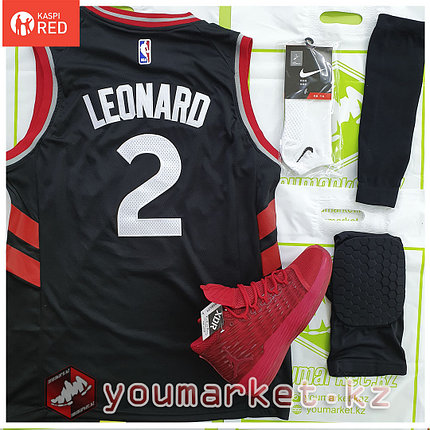 Баскетбольная форма «Торо́нто Рэ́пторс» (Toronto Raptors) игрок Кавай Леонард (Kawhi Leonard) , фото 2