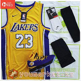 Баскетбольная форма «Лос-Анджелес Лейкерс» (Los Angeles Lakers) игрок Лебро́н Джеймс (LeBron James)