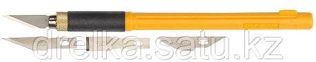 Набор OLFA Нож перовой с профильными лезвиями, 6мм, 4шт  , фото 2