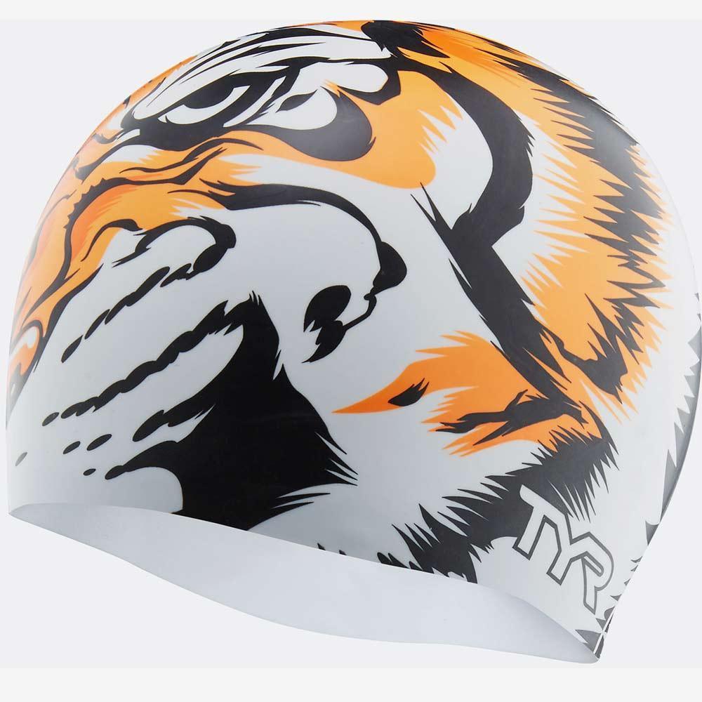 Шапочка для плавания TYR Silicone Tiger Cap