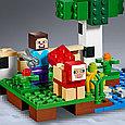 21153 Lego Minecraft Шерстяная ферма, Лего Майнкрафт, фото 4