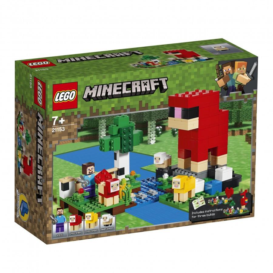 21153 Lego Minecraft Шерстяная ферма, Лего Майнкрафт