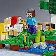 21153 Lego Minecraft Шерстяная ферма, Лего Майнкрафт, фото 5