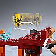 21154 Lego Minecraft Мост ифрита, Лего Майнкрафт, фото 4