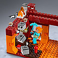 21154 Lego Minecraft Мост ифрита, Лего Майнкрафт, фото 6