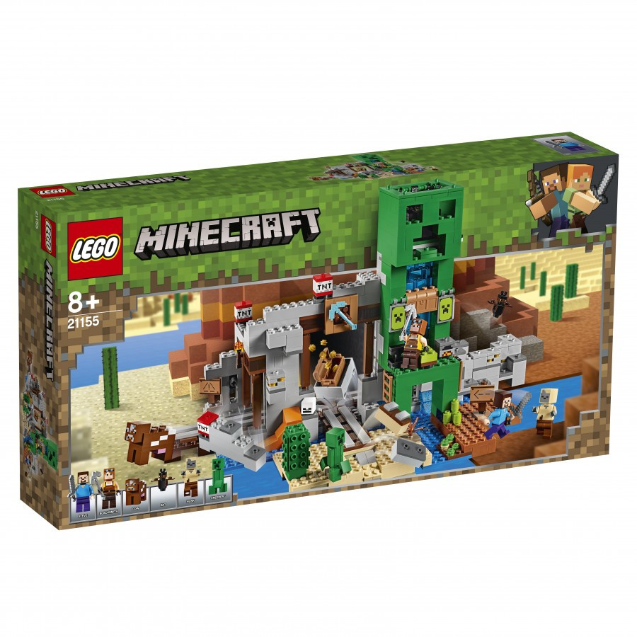 21155 Lego Minecraft Шахта крипера, Лего Майнкрафт