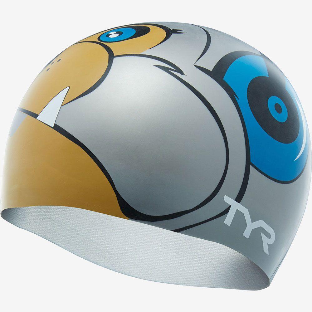 Шапочка для плавания TYR Bark Jams Swim Cap