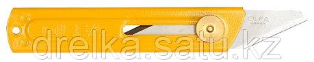Нож OLFA хозяйственный металлический корпус, с выдвижным 2-х сторонним лезвием, 18мм , фото 2