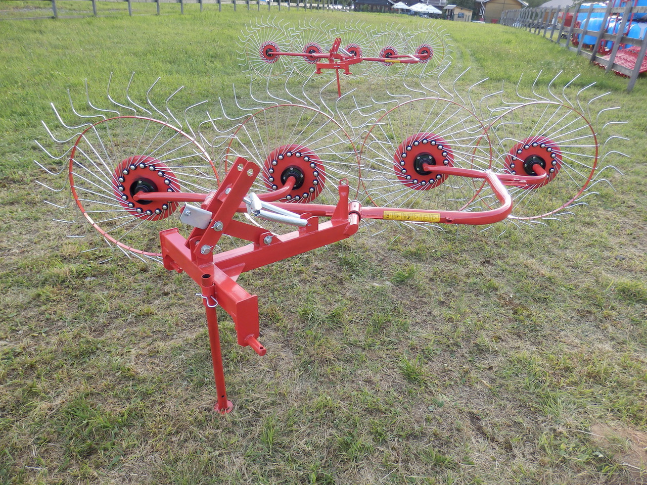 Грабли-ворошилки 4х колесные D-pol