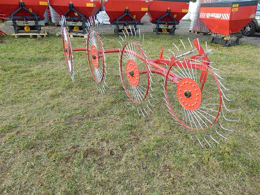 Грабли-ворошилки 4х колесные D-pol, фото 2