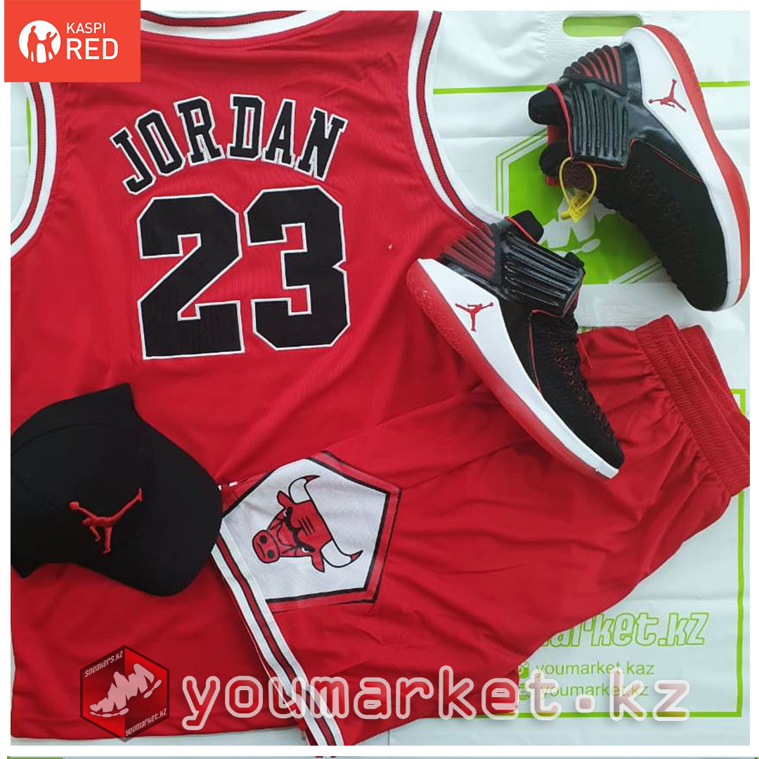 Баскетбольная форма «Чикаго Буллз» (Chicago Bulls) игрок Майкл Джо́рдан (Michael Jordan)