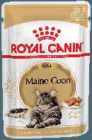 Влажный корм для кошек породы мейн-кун старше 15 месяцев Royal Canin Maine Coon Adult паучи в соусе