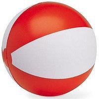 """Мяч надувной """"ЗЕБРА"""" 45 см, Красный, -, 22200 08"""