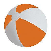 """Мяч надувной """"ЗЕБРА"""",  45 см, Оранжевый, -, 22200 06"""
