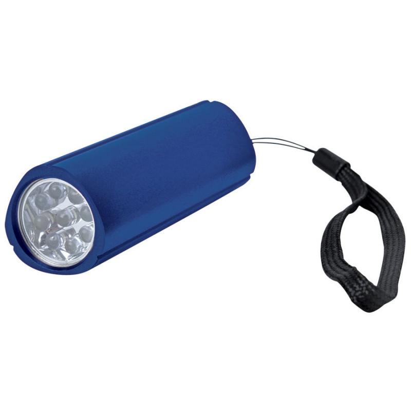 Фонарь треугольный (9 LED), Синий, -, 14004 24