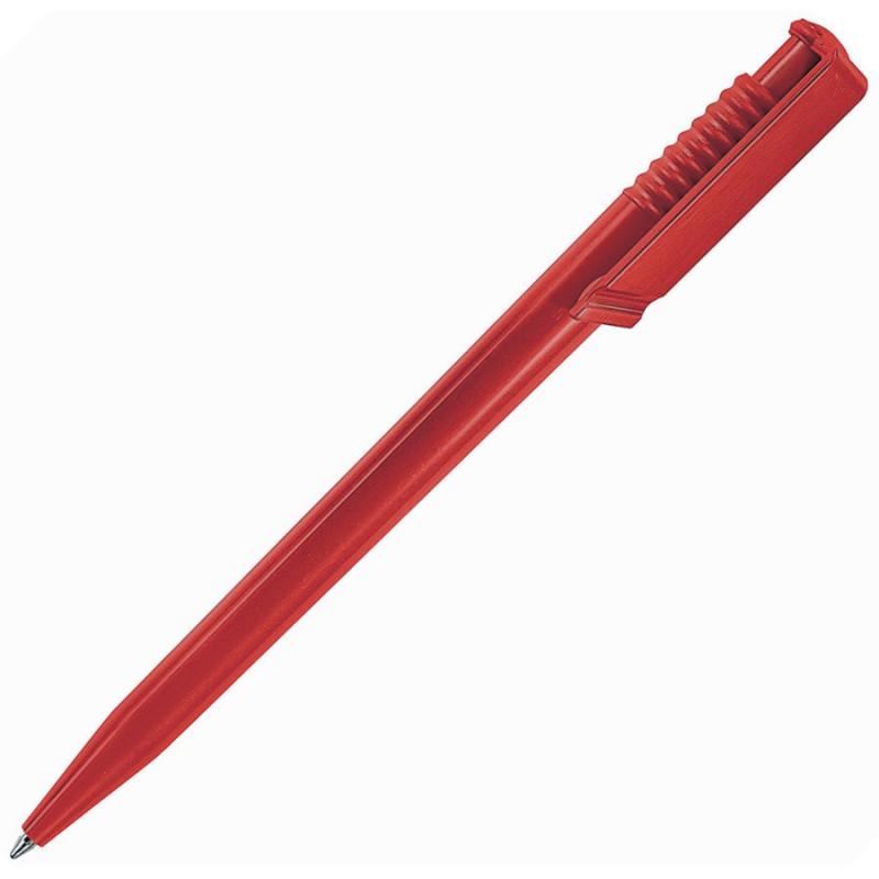 Ручка шариковая OCEAN SOLID, Красный, -, 201 08