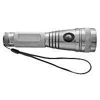 Фонарь с криптоновой лампой (3 режима подсветки), серебристый, , 7428