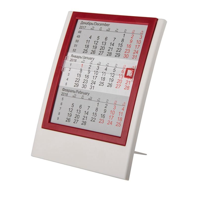 Календарь настольный на 2 года, Красный, -, 9537 08
