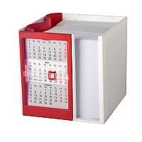 Календарь настольный  на 2 года с кубариком, Красный, -, 9505 08, фото 1