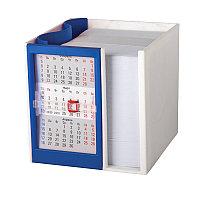 Календарь настольный  на 2 года с кубариком, Синий, -, 9505 24, фото 1