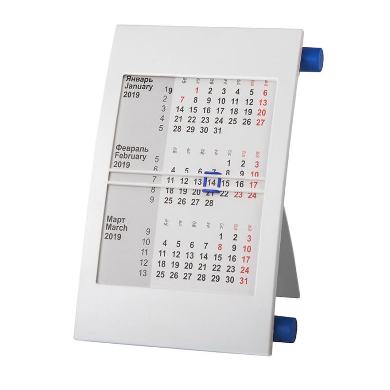 Календарь настольный на 2 года, Синий, -, 9510 24