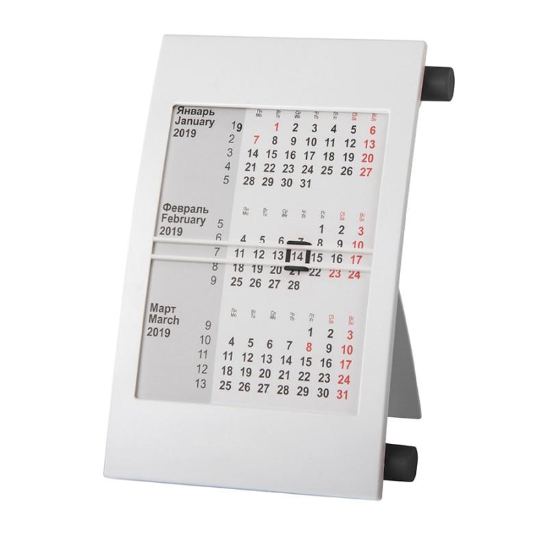 Календарь настольный на 2 года, Черный, -, 9510 35