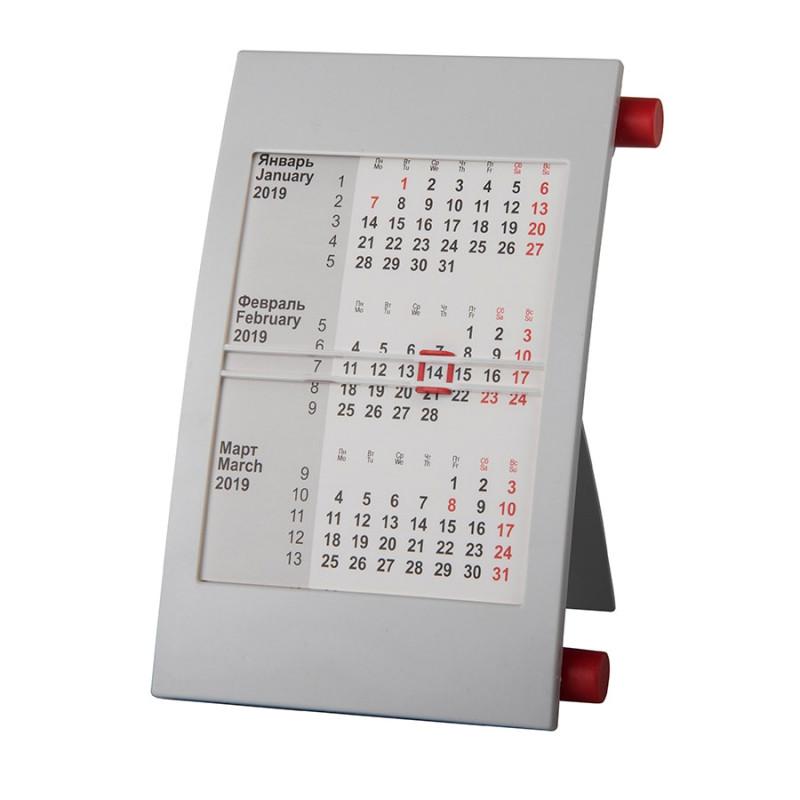 Календарь настольный на 2 года, Красный, -, 9509 08