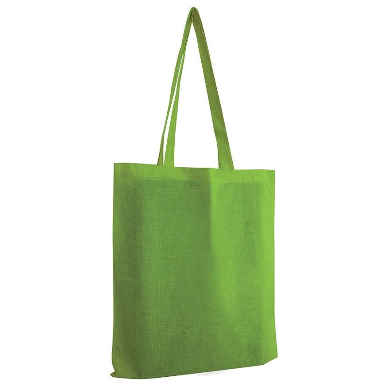 Сумка для покупок из хлопка ECO, Зеленый, -, 16102 15