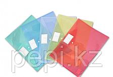Папка-конверт с кнопкой А3 , прозрачный