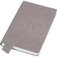 """Бизнес-блокнот А5  """"Provence"""", светло-серый , мягкая обложка, в клетку, Серый, -, 21213 139"""