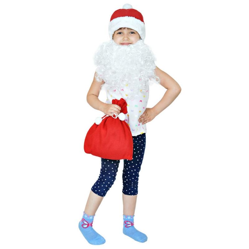 """Костюм карнавальный  """"Дед Мороз"""", в мешке, Красный, -, 20905A"""