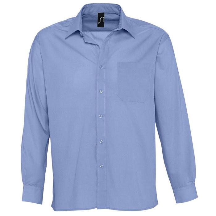 Рубашка мужская BALTIMORE 105, Синий, 2XL, 716040.230 2XL