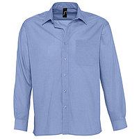 Рубашка мужская BALTIMORE 105, Синий, 2XL, 716040.230 2XL, фото 1