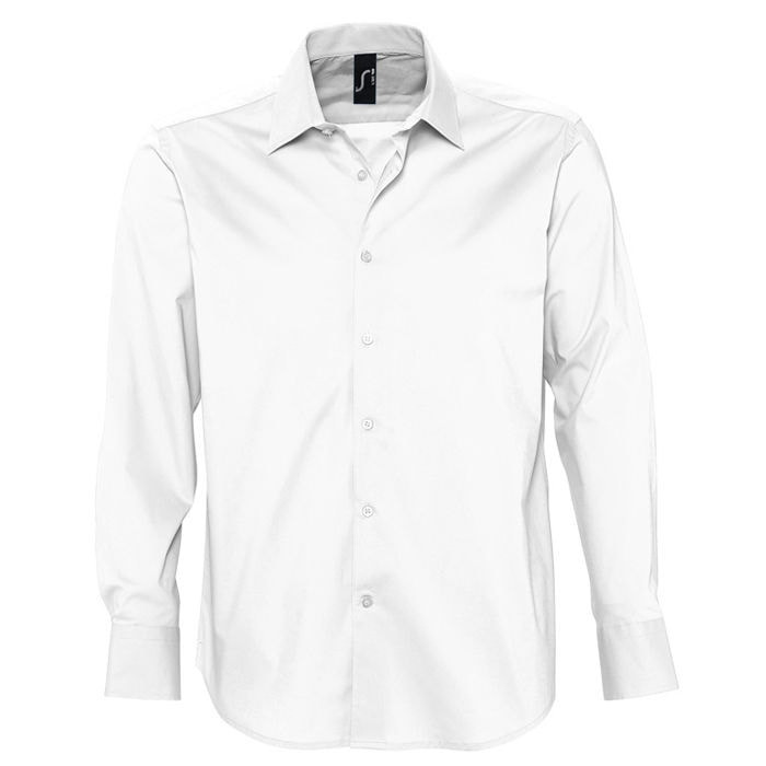 Рубашка мужская BRIGHTON 140, Белый, S, 717000.102 S