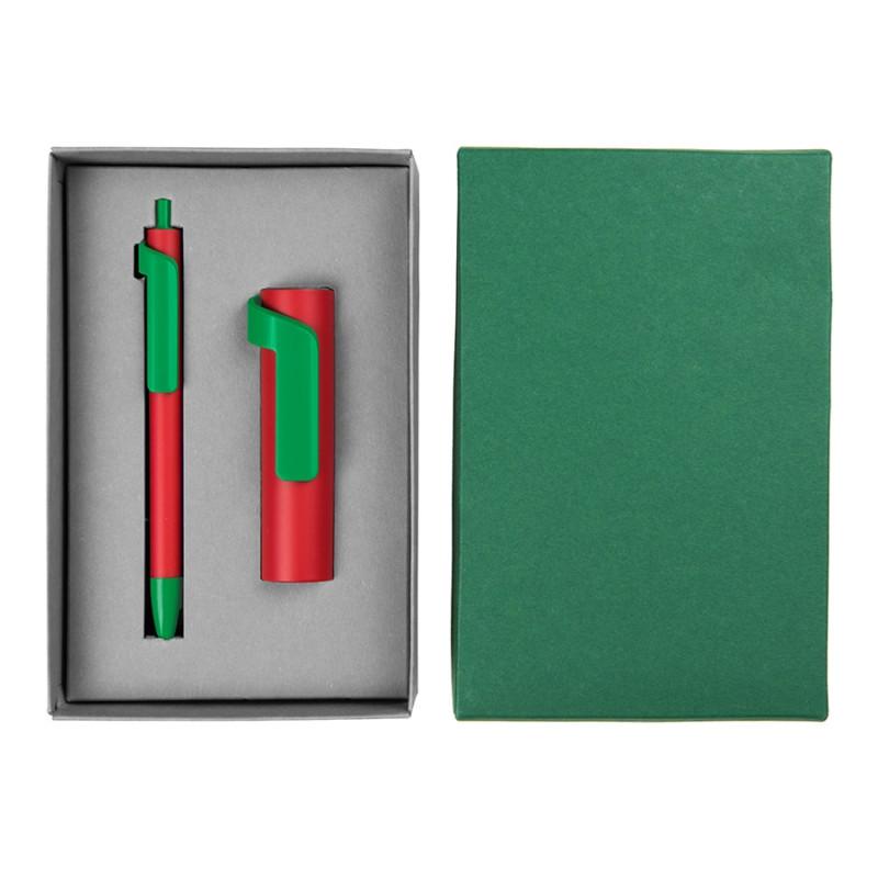 Набор подарочный FORTE SET FANTASY: Универсальный аккумулятор (3000мАh) и ручка, разные цвета, , 20225