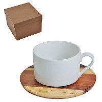 """Чайная пара """"Helga"""" в подарочной упаковке, коричневый, белый, , 21600"""