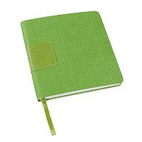 Ежедневник недатированный Scotty, А5-,  зеленое яблоко, кремовый блок, без обреза, Зеленый, -, 24701 27
