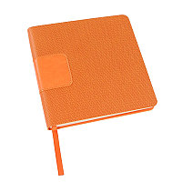 Ежедневник недатированный Scotty, А5-,  оранжевый, кремовый блок, без обреза, Оранжевый, -, 24701 05