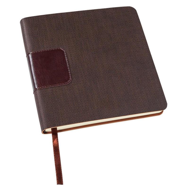 Ежедневник недатированный SCOTTY, формат А5-, Коричневый, -, 24701 33