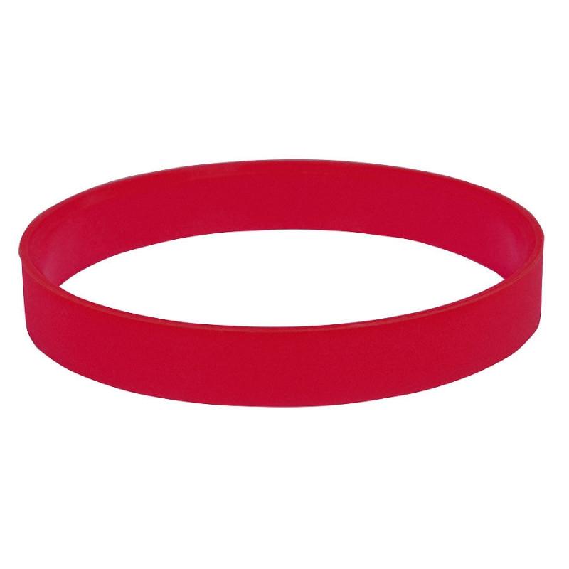 """Браслет силиконовый """"Фантазия-2"""";  D6,5 см, красный, Красный, -, 22109 08"""