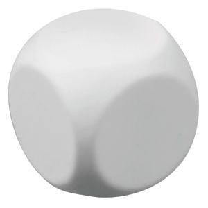 """Антистресс  """"Куб-приниматель решений"""", белый, , 7218"""