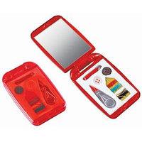 Набор швейный с зеркалом, Красный, -, 7114 08